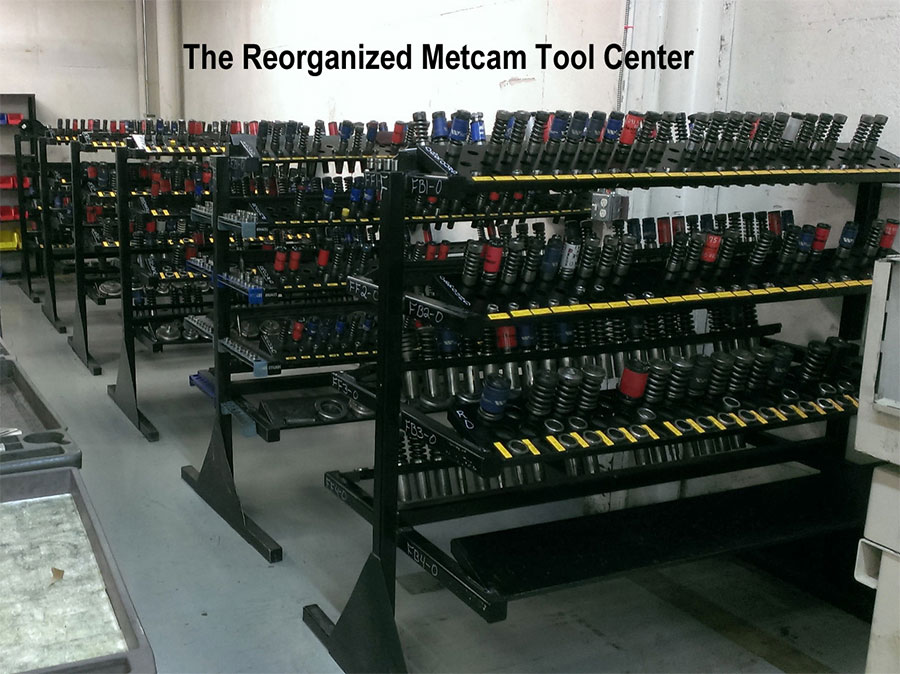 The Reorganized Metcam Tool center
